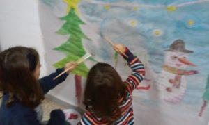 Talleres para niños en Navidad