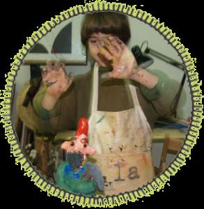 Arte para niños: jugando con arcilla