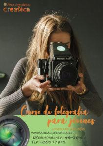 Curso de fotografía para jóvenes en sevilla