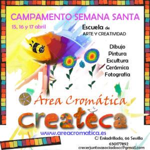 campamento de Semana Santa para niños en Sevilla