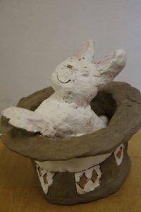 curso de escultura y cerámica para niños extraescolar para niños de arte