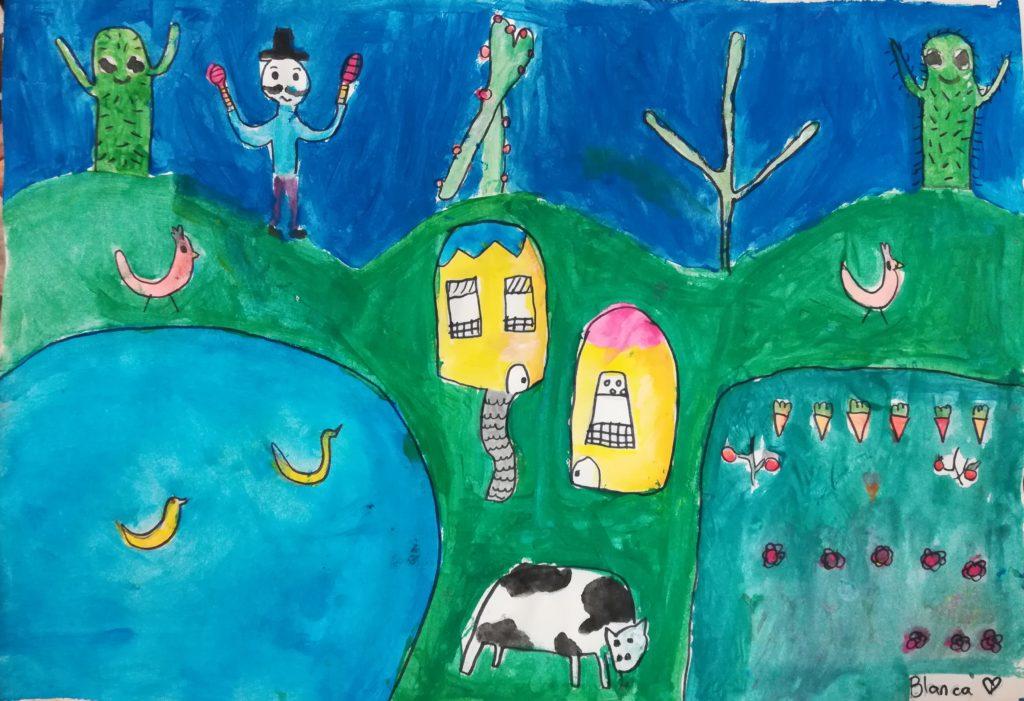 curso de arte para niños dibujo pintura para niños