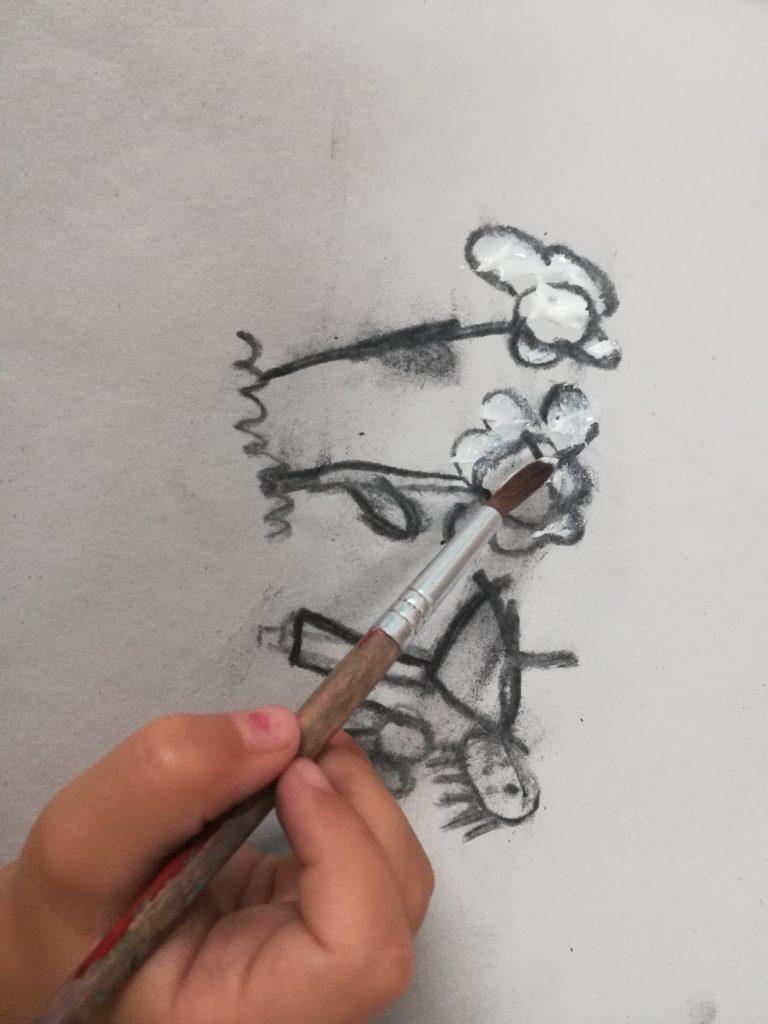 curso arte para niños extraescolares arte para niños